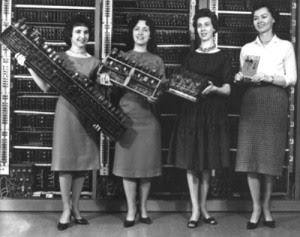 Cuatro de las programadoras de la ENIAC 1946  Google imágenes