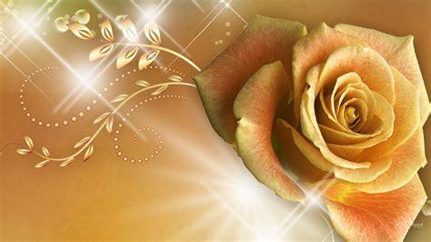 golden flower reno wallpaper