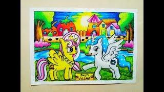 All Clip Of Cara Mewarnai Gradasi Crayon Kebun Binatang Bhclipcom