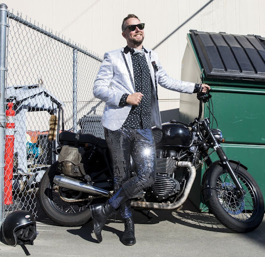 Jackets, neck ties, motorcycles blend in charity Gentleman's Ride