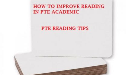 PTE Academic exam study guide -Free PTE practice test material & tips