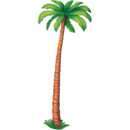 Beistle Jointed Palm Tree Cutout, 6'