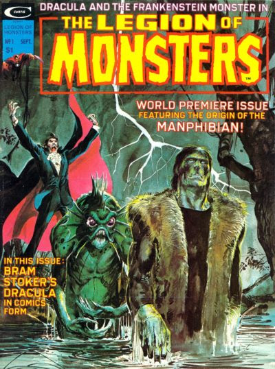 Here There Be Monsters, Part One: The Legion of Monsters, #1