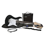 Yamaha Gigmaker Eg Electric Guitar Pack With Amplifier Gig Bag Tremolo Bar Tuner Instructional Dvd Cable Strap Strings And Picks - Black