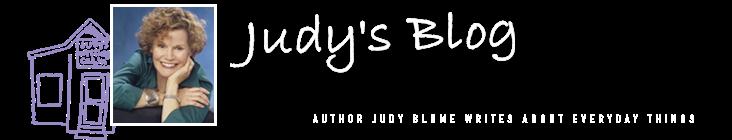Judy's Blog