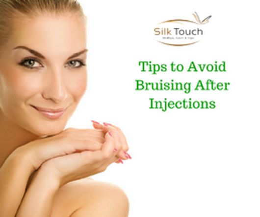 How can I prevent bruising from cosmetic fillers?