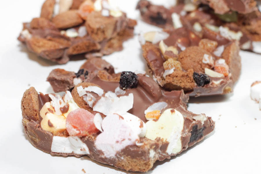 8 Sinterklaas recepten - pepernoten chocoladebrokken