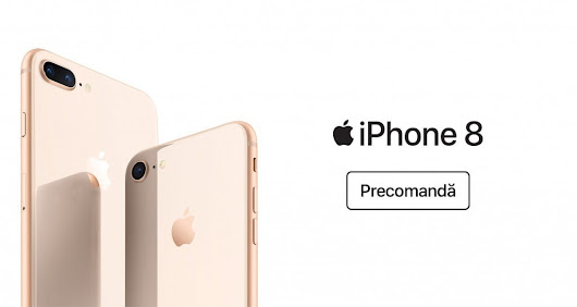 iPhone 8 si 8+ la eMAG in 36 rate fara dobanda