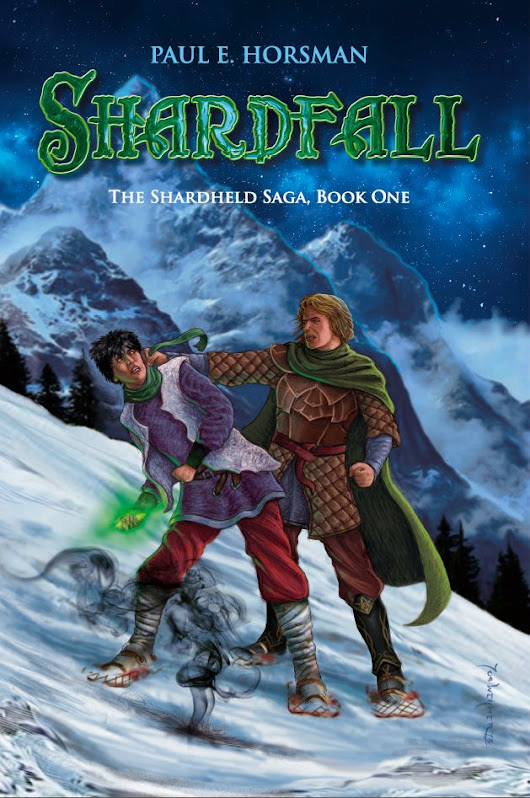 Cover Contest: Shardfall, The Shadow of the Revenaunt #1 by Paul E. Horsman