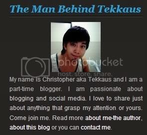 Finally My Blog Comes With A Footer