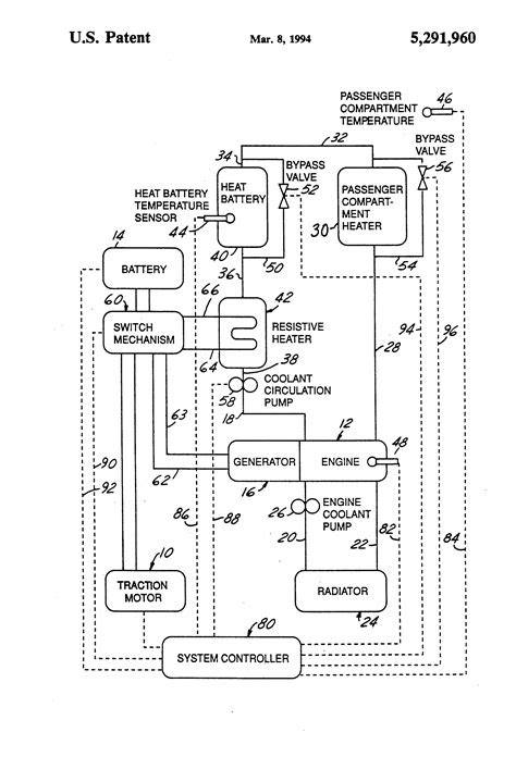 Patent US5291960 - Hybrid electric vehicle regenerative