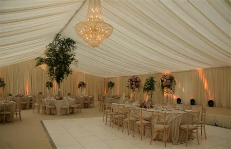 Wedding Ceiling Drapery Rentals