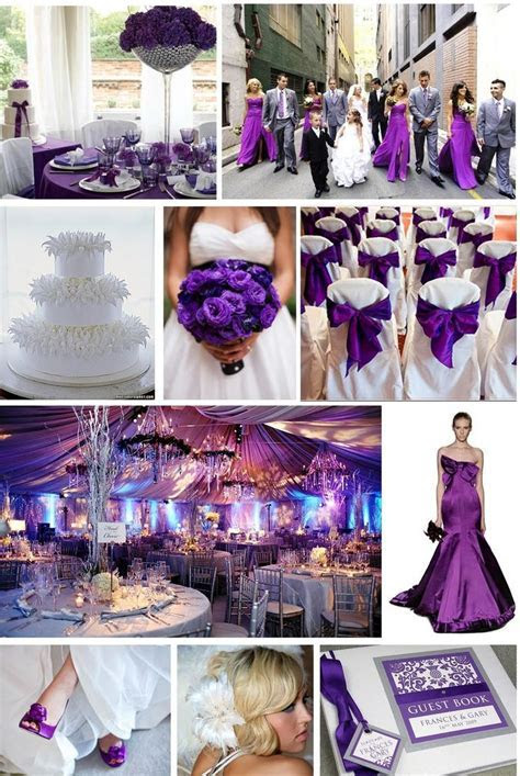 Purple Reign Wedding   A sophisticated and elegant colour