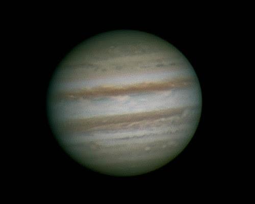 Jupiter LRGB - 180214 - 18:20UT by Mick Hyde