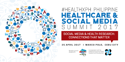 The 3rd #HealthXPh Philippine Healthcare Social Media Summit will be in Cebu!