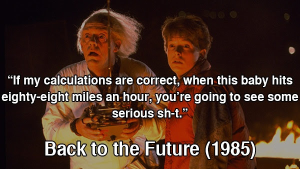 Back To The Future Movie Quotes Sayings Back To The Future Movie