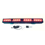 "21.5"" Wireless LED Tow Light Bar with Red Stop Tail Turn Signal LEDs w/ Magnetic Base"