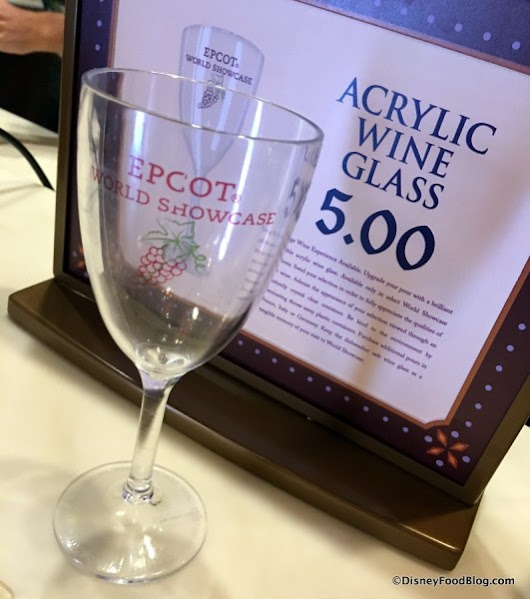 News: Epcot's World Showcase Wine Walk Now Includes Refillable Wine Glass | the disney food blog