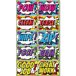 Ashley Superhero Mini Whiteboard Erasers