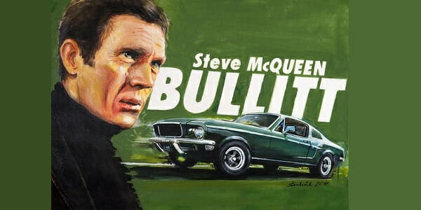 Steve McQueen's legendary 'Bullitt' Mustang fetches $3.4 million