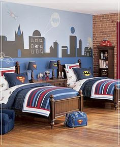 Fantastic Shared Kids Rooms