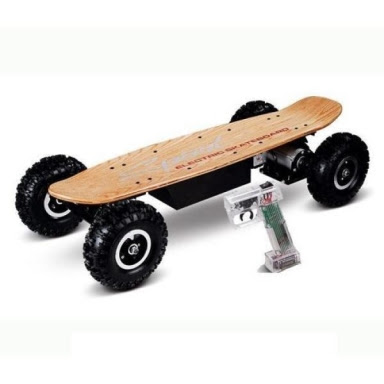 Other  800W OffRoad Electric Skateboard With Remote Control  32km\/h was sold for R2,100.00