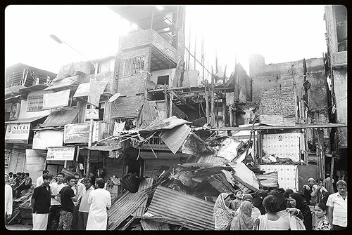Once Upon A Time At Behrampada ,,, After The Fire Memory by firoze shakir photographerno1