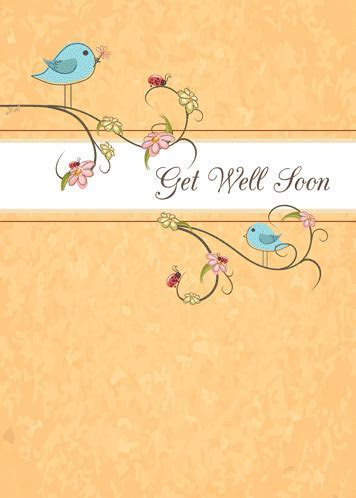 Birds With Get Well Religious Message. Free Get Well Soon