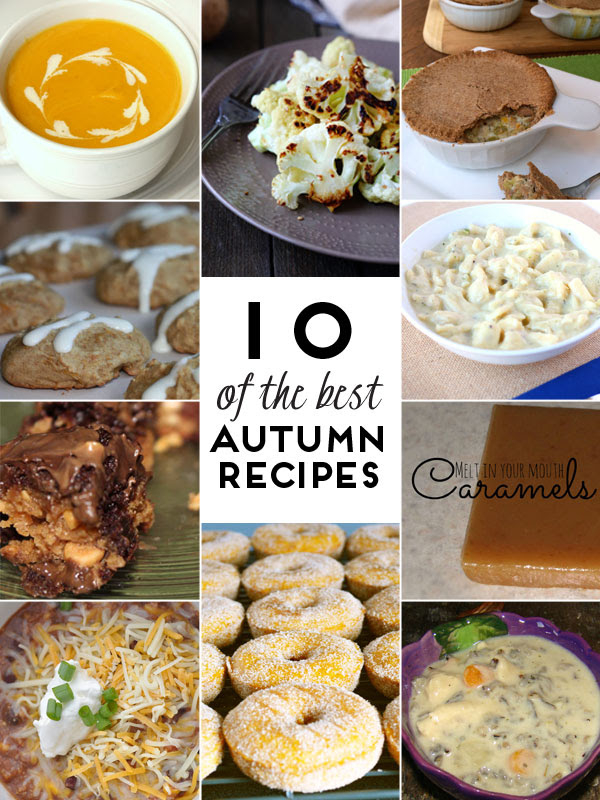 10 of the Best Autumn Recipes at artsyfartsymama.com