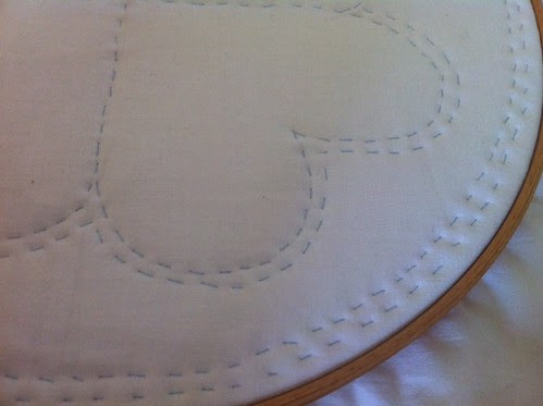 Whole cloth quilt by potteryrachel