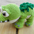 Baby Croc Pattern pattern by Crocheted Crafts by Dani