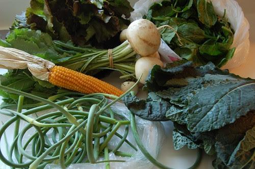 166/365: Stone Soup Farms CSA Week 2
