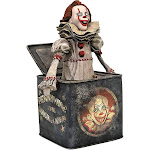 Horror IT Chapter 2 Movie Gallery Pennywise in a Box 9-Inch Diorama PVC