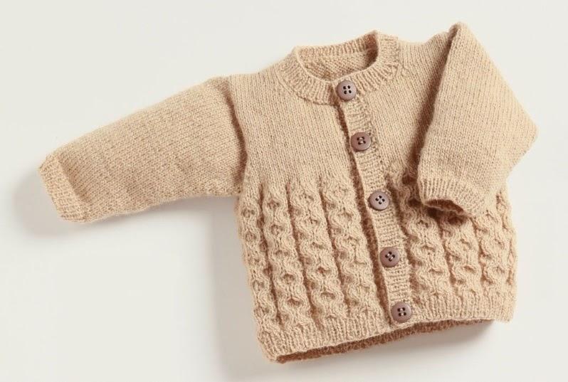 Baby Aran Cardigan Knitting Patterns Free