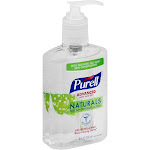 Purell Hand Sanitizer, Advanced, Naturals - 8 fl oz