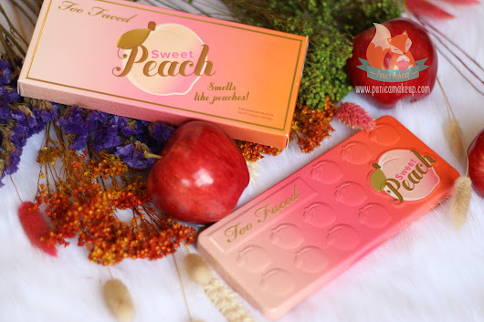 Review: Too Faced - Sweet Peach Eye Shadow Palette | Punica Makeup