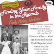 Finding Your Family in the Records Workshop Schedule of Events Now Available - Utah State Archives and Records Service