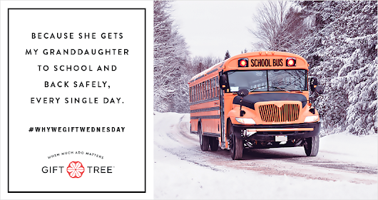 Why We Gift Wednesday - Bus Driver Edition