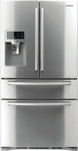 top 10 french door refrigerators get cheap samsung rf4287hars 28 cu ft 4 door french door. Black Bedroom Furniture Sets. Home Design Ideas
