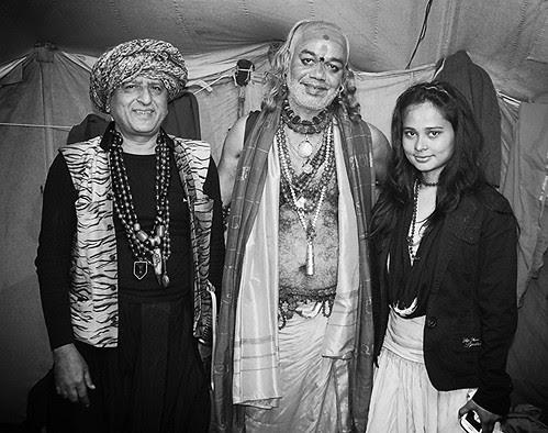 The Tantric Guru Kapoor Khamkhya -Maha Kumbh by firoze shakir photographerno1