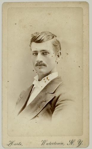 CDV Man with moustache