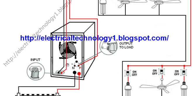 Inverter home wiring diagram pdf home wiring and electrical diagram pdfhome inverter pdfinverter charger installation general operations and ac sunenergy automatic ups system wiring circuit diagram for home or office swarovskicordoba Images