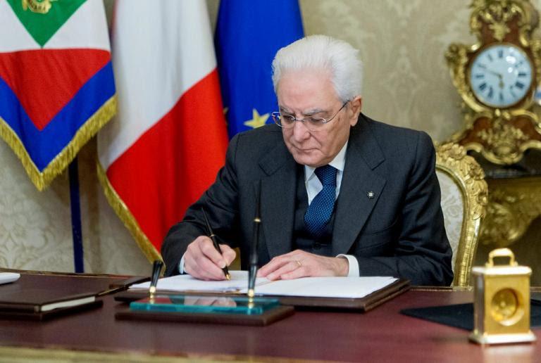 Διαλύθηκε η Ιταλική Βουλή – Υπέγραψε το διάταγμα ο Ματταρέλλα | Newsit.gr