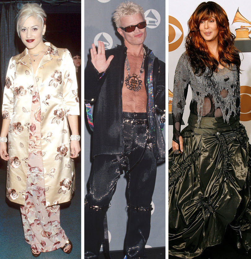 Gwen Stefani, Cher & More -- See The Worst Dressed Stars Of The Grammys' Past!