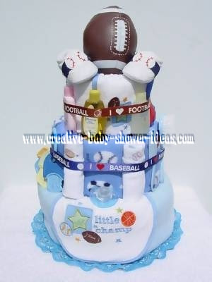 Baby Shower Diaper Cakes Photo Gallery The Webs Biggest