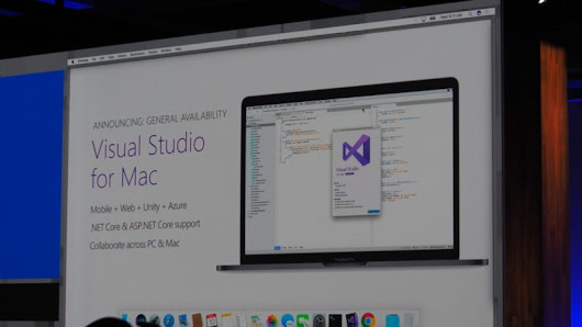 Finally Microsoft Visual studio is now on Mac | Microple