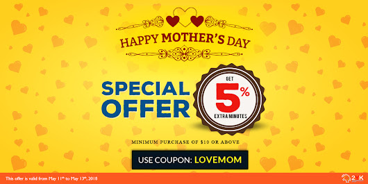 Happy Mother's Day | Special Offer