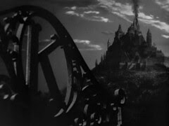 The movie ends just as it began except smoke is all that remains of Charles Foster Kane