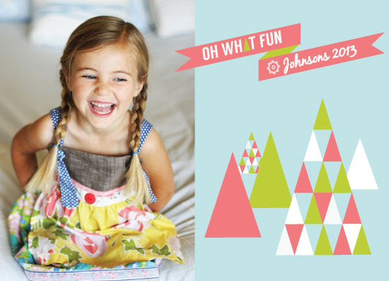 holiday photo cards - What Fun It Is