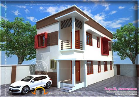 small plot villa   cents  land kerala home
